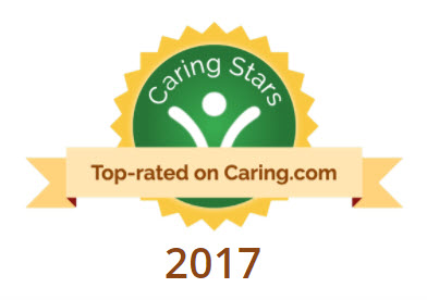 Caring.com 2017 Top Home Care Agency in Fort Bend Award